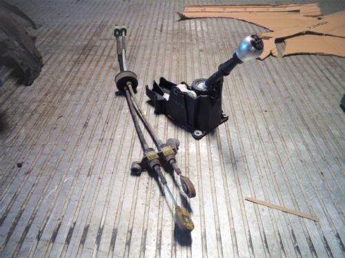 ZAFIRA A GSI Z20LET COMPLETE GEAR SELECTOR,ALLOY KNOB,CABLES & BRACKET